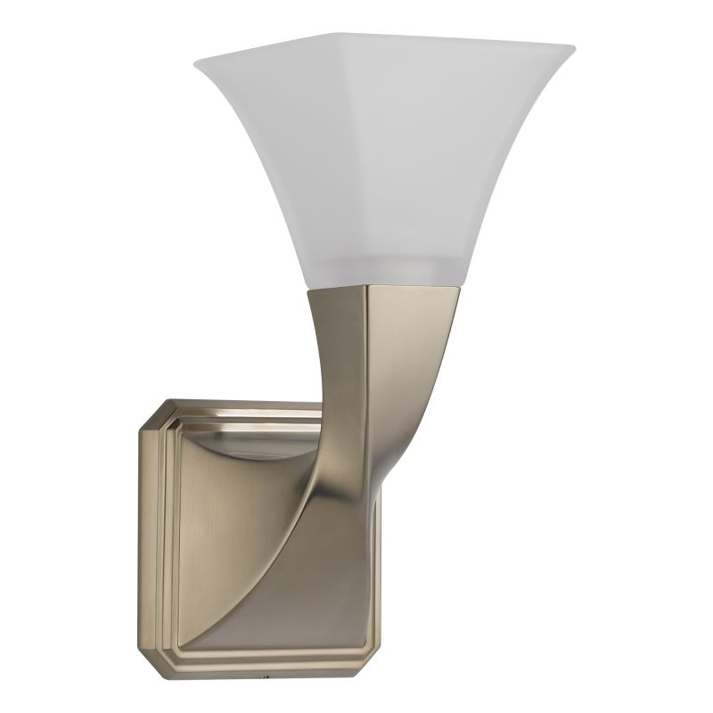 "Brizo 697030 Virage 11"" Single Light Up Lighting Wall Sconce with"