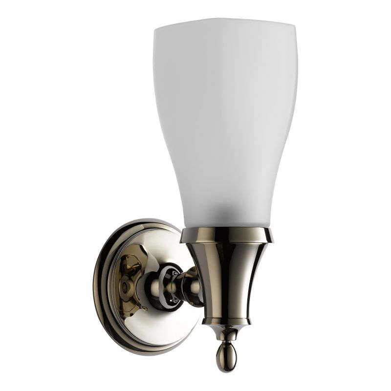 "Brizo 697085 Charlotte 11"" Up Lighting Single Light Wall Sconce with"