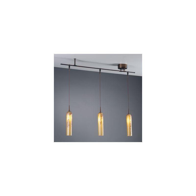 "Bruck Lighting 360159BZ Bronze V/A 39"" Track Light Kit for use with V/A Track Lighting Systems"