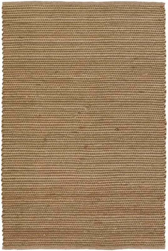 Chandra Rugs Hemson 22700 Brown and Tan Wool Blend Shag Area Rug Flat