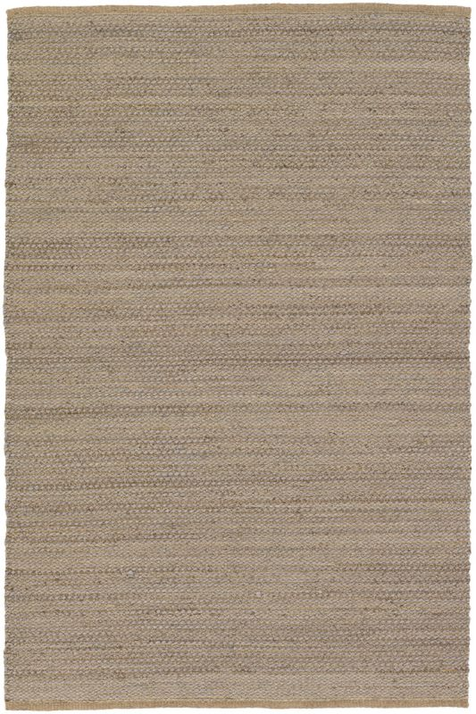 Chandra Rugs Hemson 22701 Grey and Tan Wool Blend Shag Area Rug Flat