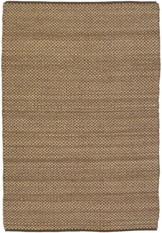 Chandra Rugs Hemson 22702 Tan and Multicolored Wool Blend Shag Area