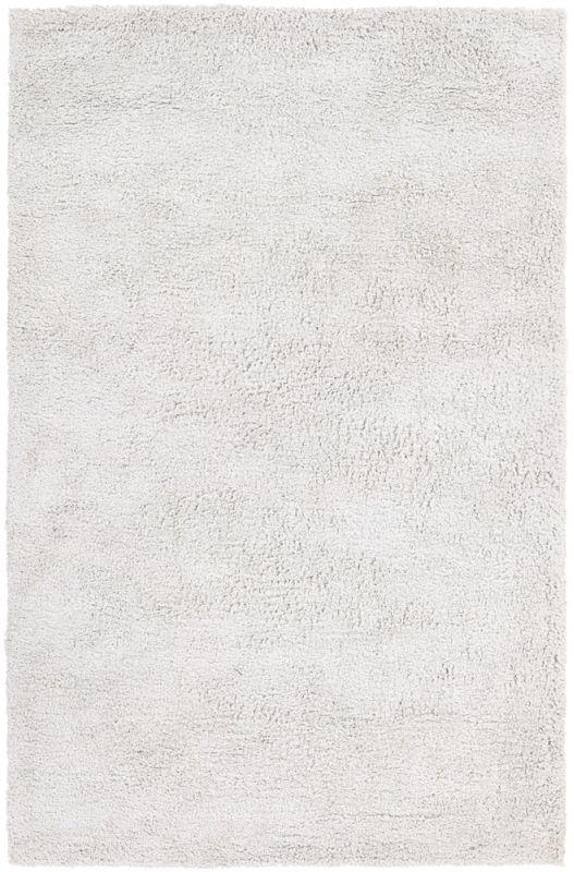 Chandra Rugs Ombra 5300 Ivory Acrylic and Polyester Shag Area Rug Hand