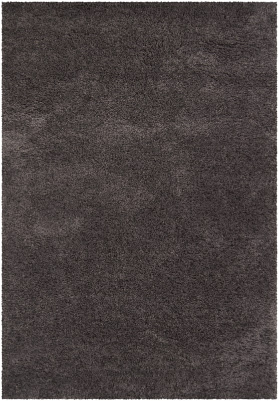 Chandra Rugs Ombra 5302 Charcoal and Grey Acrylic and Polyester Shag