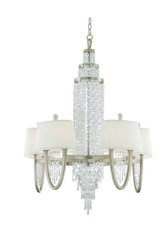 Corbett Lighting 106-010 Ten Light Mid-Sized Chandelier From The