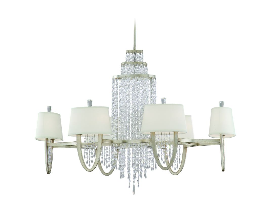 Corbett Lighting 106-012 Twelve Light Oval Chandelier From The