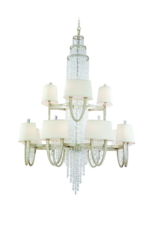 Corbett Lighting 106-024 Two Tier 24 Light Large Chandelier From The