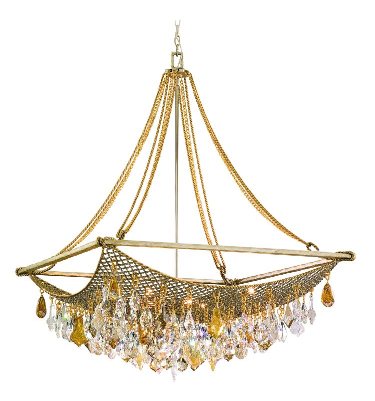 Corbett Lighting 125-49 Eight Light Large Pendant From The Barcelona