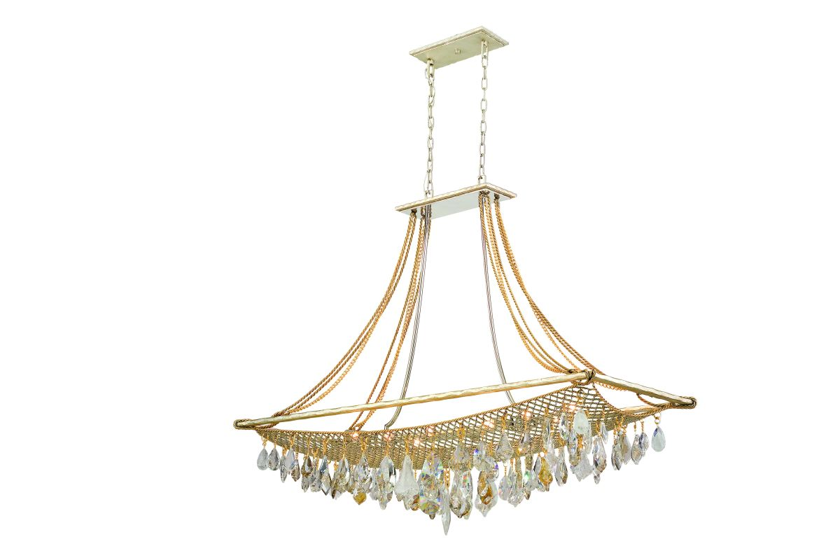 Corbett Lighting 125-512 Twelve Light Island / Billiard Fixture From