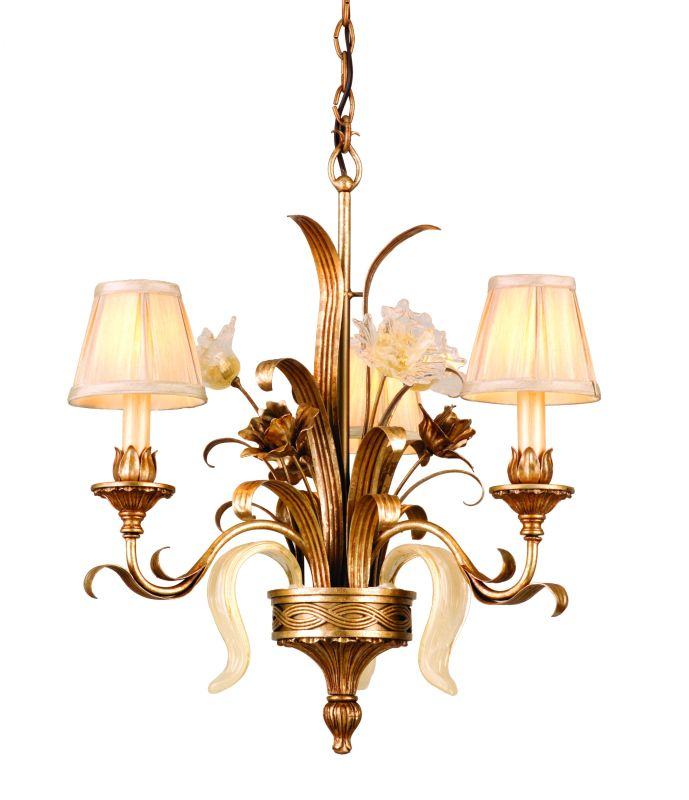 Corbett Lighting 49-03 Chandelier from the Tivoli Collection Tivoli