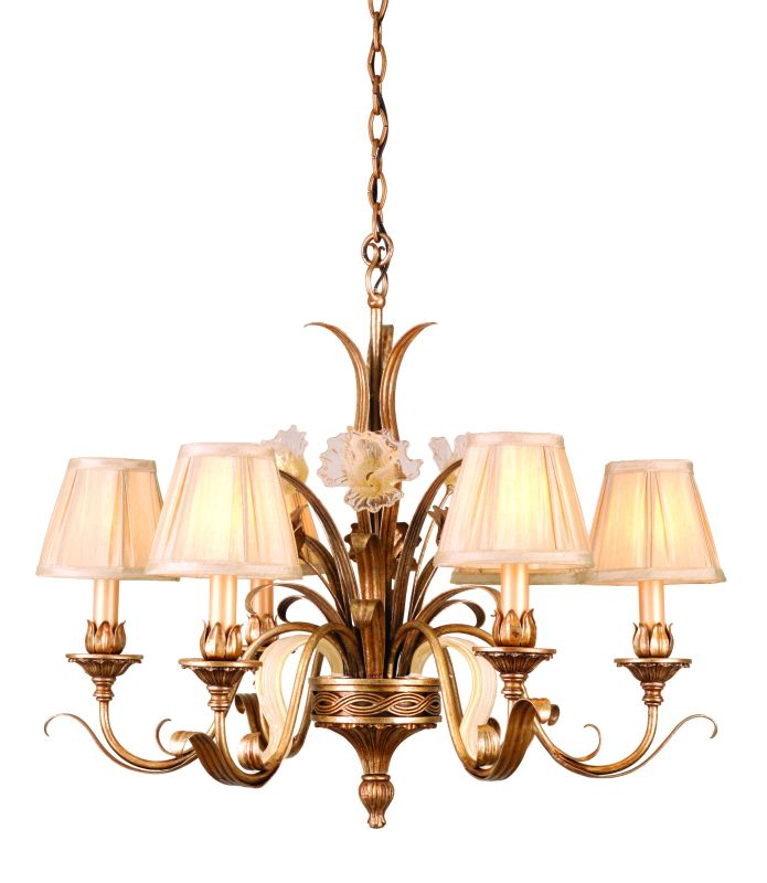 Corbett Lighting 49-06 Chandelier from the Tivoli Collection Tivoli