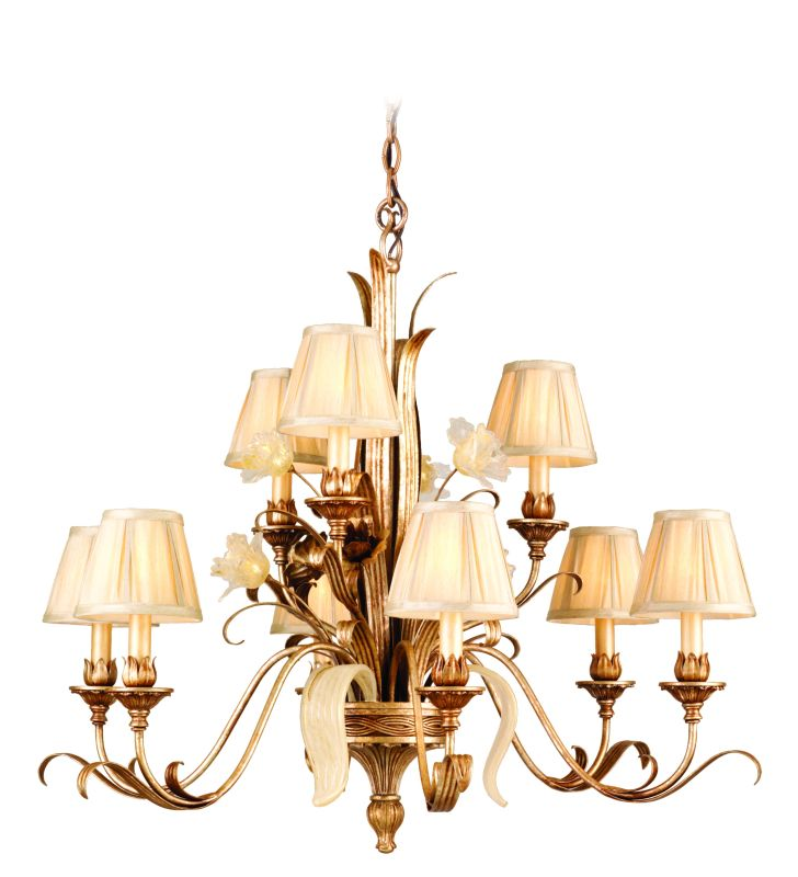 Corbett Lighting 49-09 Chandelier from the Tivoli Collection Tivoli