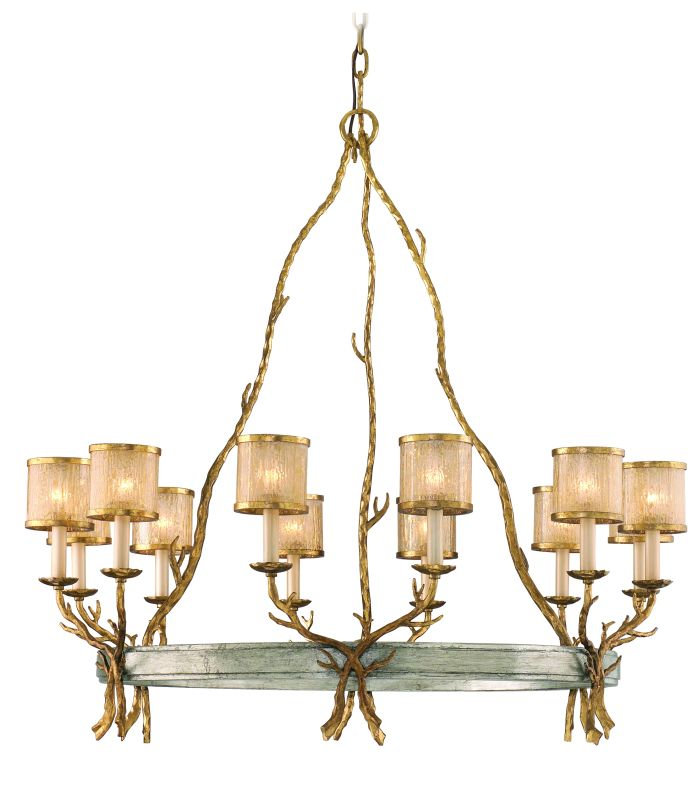 Corbett Lighting 66-012 12 Light Island / Billiard Fixture from the