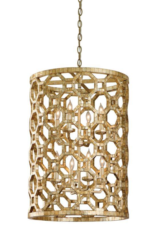 Corbett Lighting 104-78 Regatta 8 Light Pendant with Hand Crafted Iron