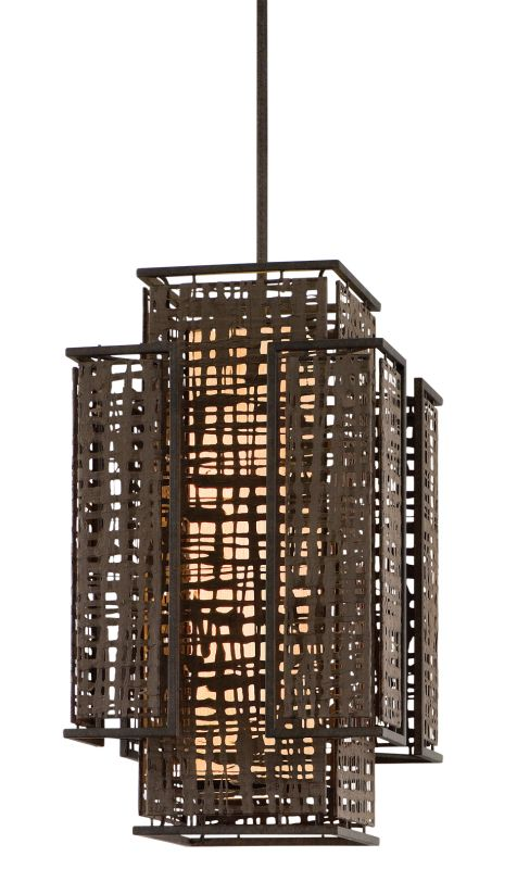 Corbett Lighting 105-72 Shoji 2 Light Pendant with Hand Crafted Iron Sale $1094.00 ITEM#: 1356970 MODEL# :105-72 UPC#: 782042992405 :