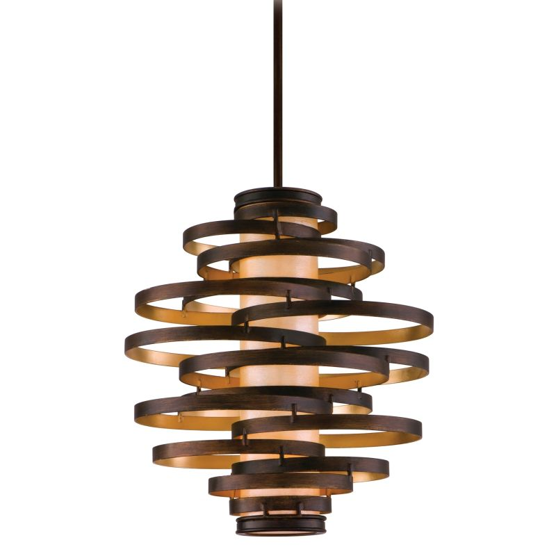 Corbett Lighting 113-43-F Vertigo 3 Light Modern Pendant with Hand Sale $1772.00 ITEM#: 2061217 MODEL# :113-43-F UPC#: 782042782211 :