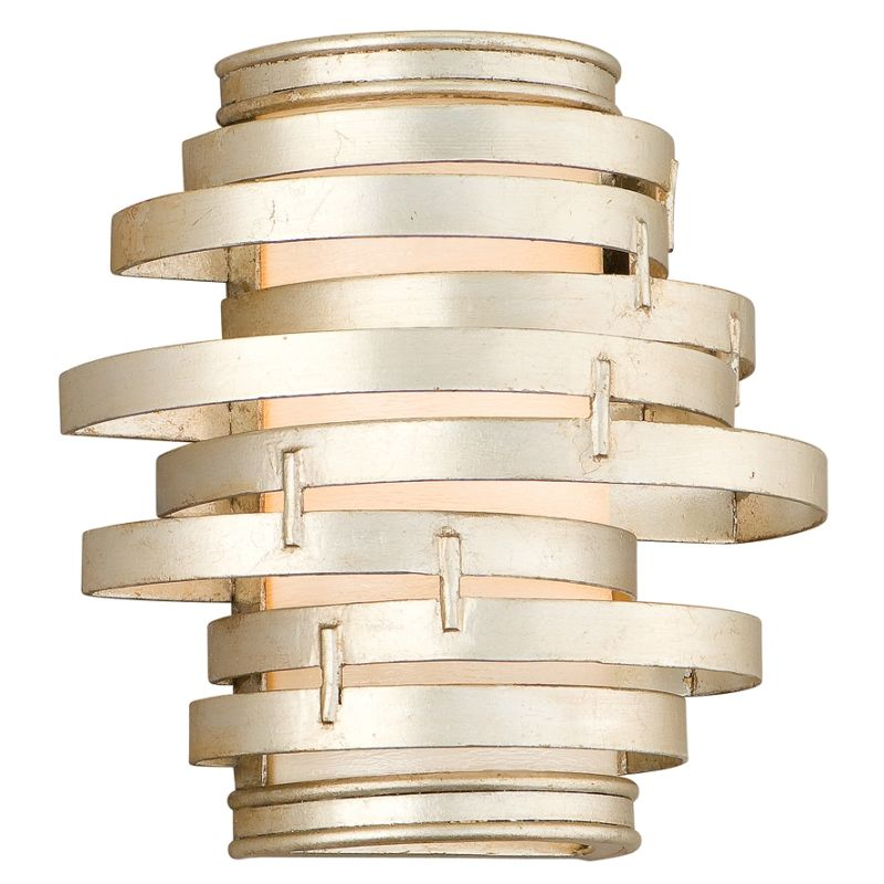 Corbett Lighting 128-11 Vertigo 1 Light Modern Wall Sconce with Hand Sale $344.00 ITEM#: 1356979 MODEL# :128-11 UPC#: 782042750524 :