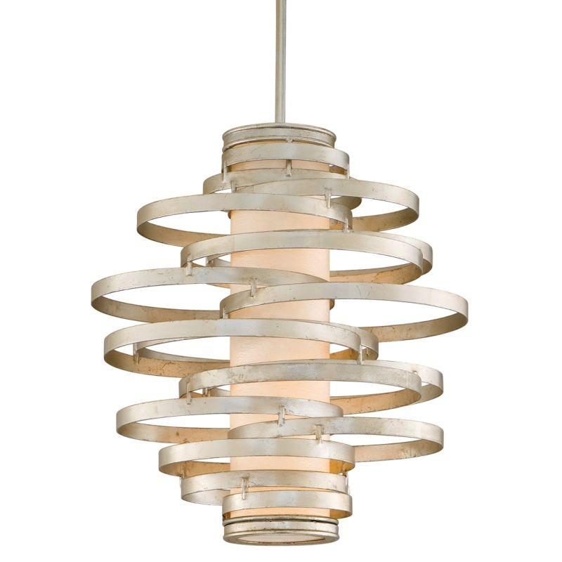 Corbett Lighting 128-42-F Vertigo 2 Light Modern Pendant with Hand
