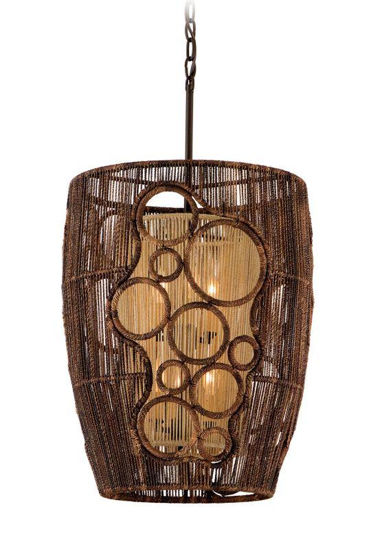 Corbett Lighting 129-45 Six Light Mid-Sized Pendant From The Havana