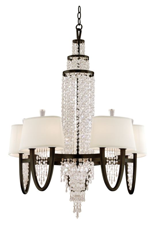 Corbett Lighting 130-010 Ten Light Mid-Sized Chandelier From The