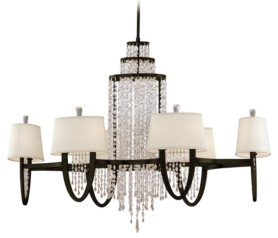 Corbett Lighting 130-012 Twelve Light Oval Chandelier From The