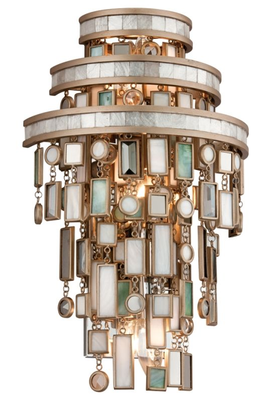 Corbett Lighting 142-13 Dolcetti 3 Light Wall Sconce with Hand Crafted Sale $638.00 ITEM#: 1752819 MODEL# :142-13 UPC#: 782042766051 :