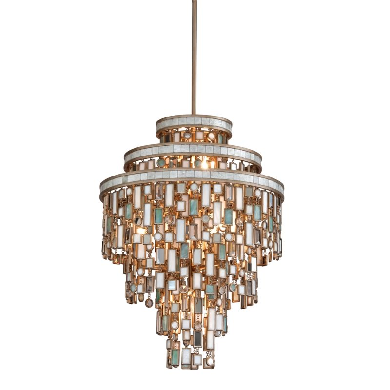 Corbett Lighting 142-47 Dolcetti 7 Light Pendant with Hand Crafted Sale $2254.00 ITEM#: 1752822 MODEL# :142-47 UPC#: 782042766075 :
