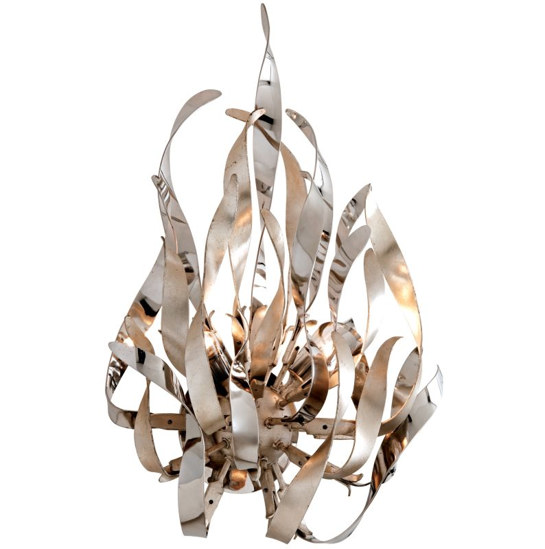 Corbett Lighting 154-12 Graffiti 2 Light Modern Wall Sconce with Hand