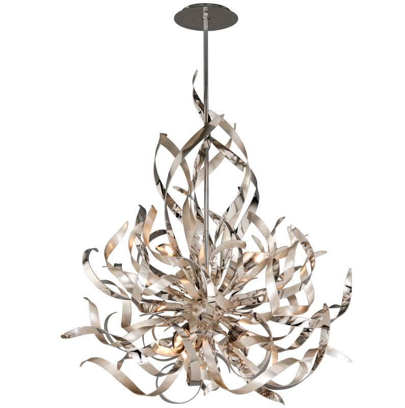 Corbett Lighting 154-46 Graffiti 6 Light Modern Pendant with Hand