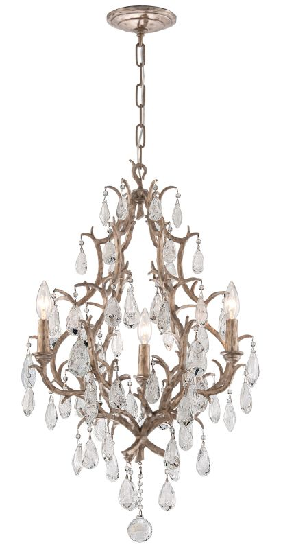 Corbett Lighting 163-03 Amadeus 3 Light Candle Style Chandelier with