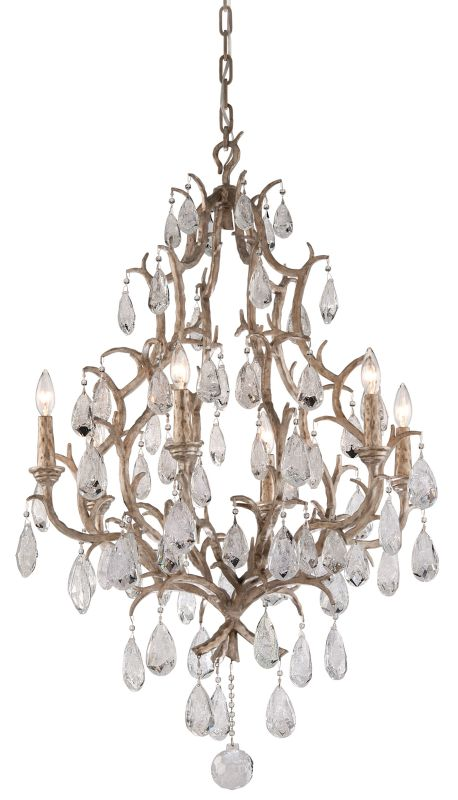 Corbett Lighting 163-06 Amadeus 6 Light Candle Style Chandelier with
