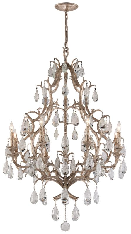 Corbett Lighting 163-08 Amadeus 8 Light Candle Style Chandelier with