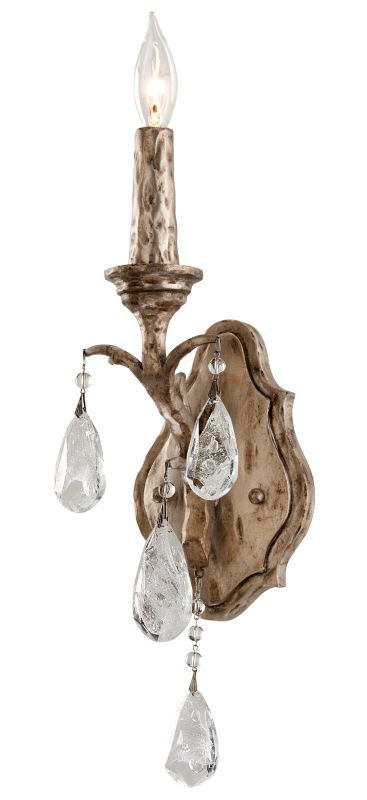 Corbett Lighting 163-11 Amadeus 1 Light Candle Style Wall Sconce with