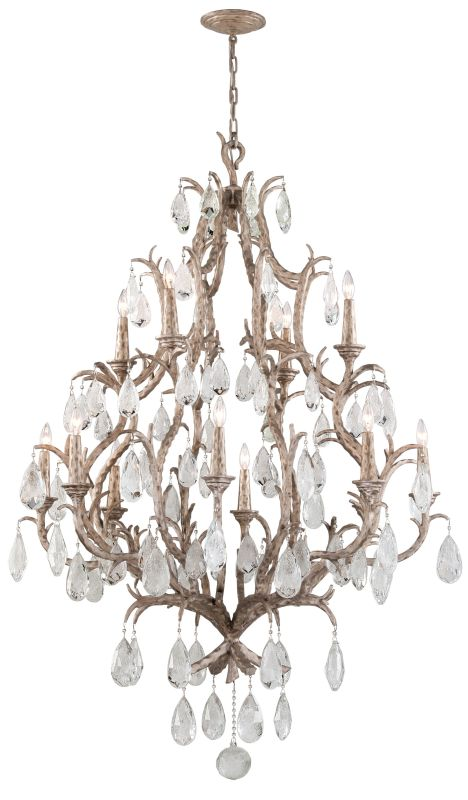Corbett Lighting 163-712 Amadeus 12 Light Candle Style Chandelier with