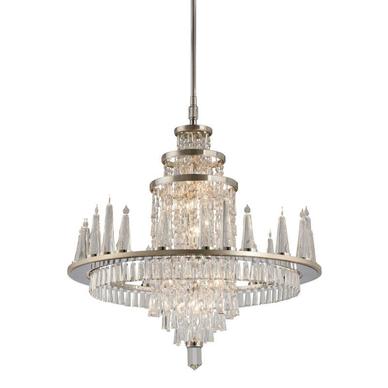 Corbett Lighting 170-010 Illusion 10 Light Crystal Chandelier with