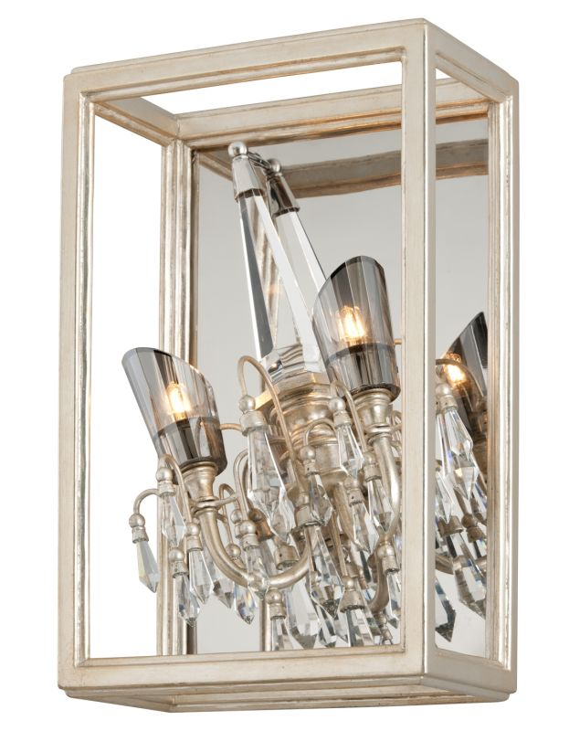 Corbett Lighting 177-13 Houdini 2 Light Modern Wall Sconce with Hand