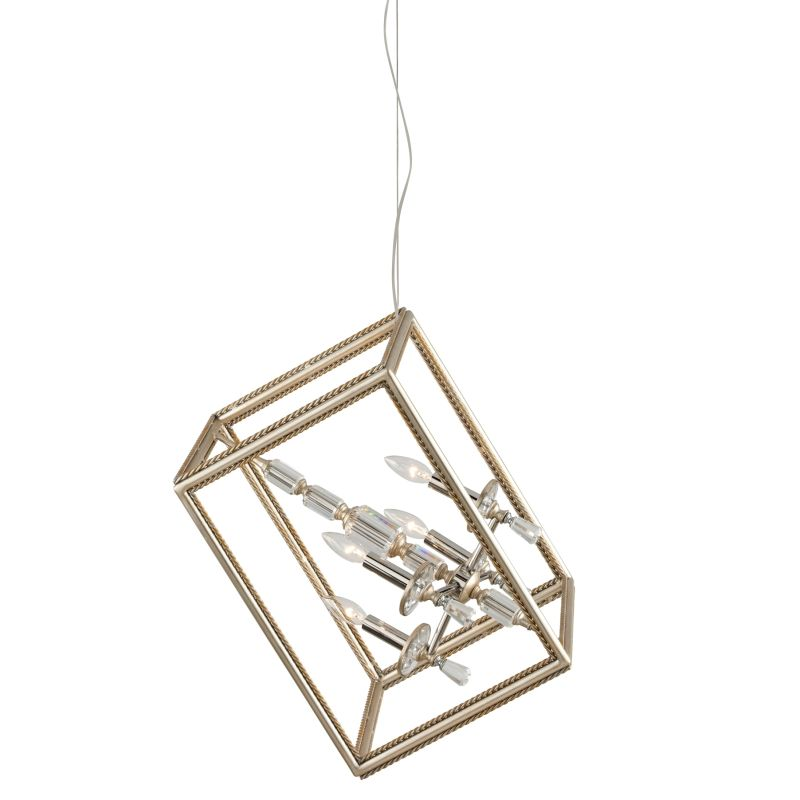 Corbett Lighting 177-44 Houdini 4 Light Modern Pendant with Hand