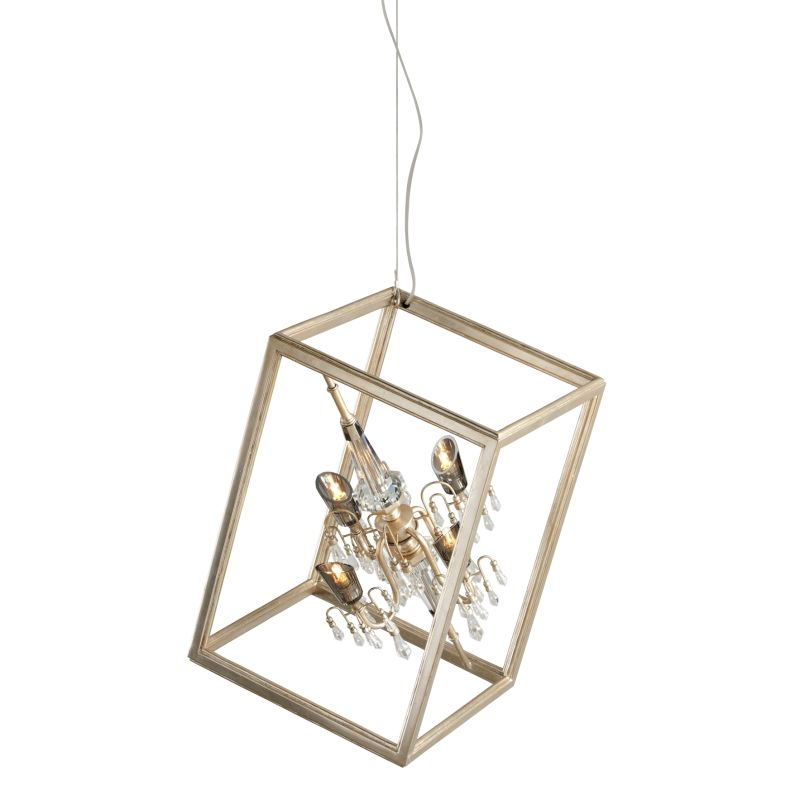Corbett Lighting 177-45 Houdini 4 Light Modern Pendant with Hand