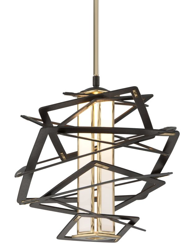 Corbett Lighting 186-41 Tantrum 1 Light LED Pendant with Hand-Crafted
