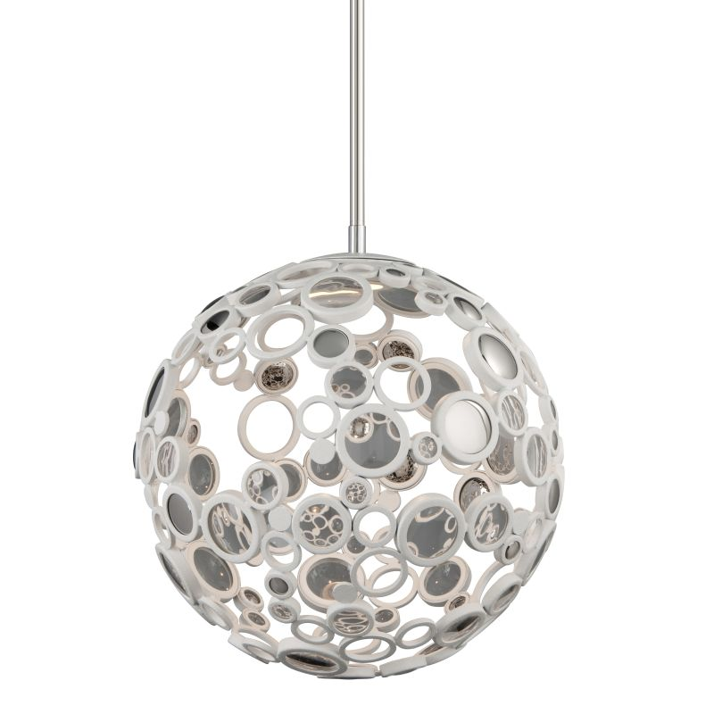 Corbett Lighting 187-41 Fathom 1 Light LED Pendant with Hand-Crafted