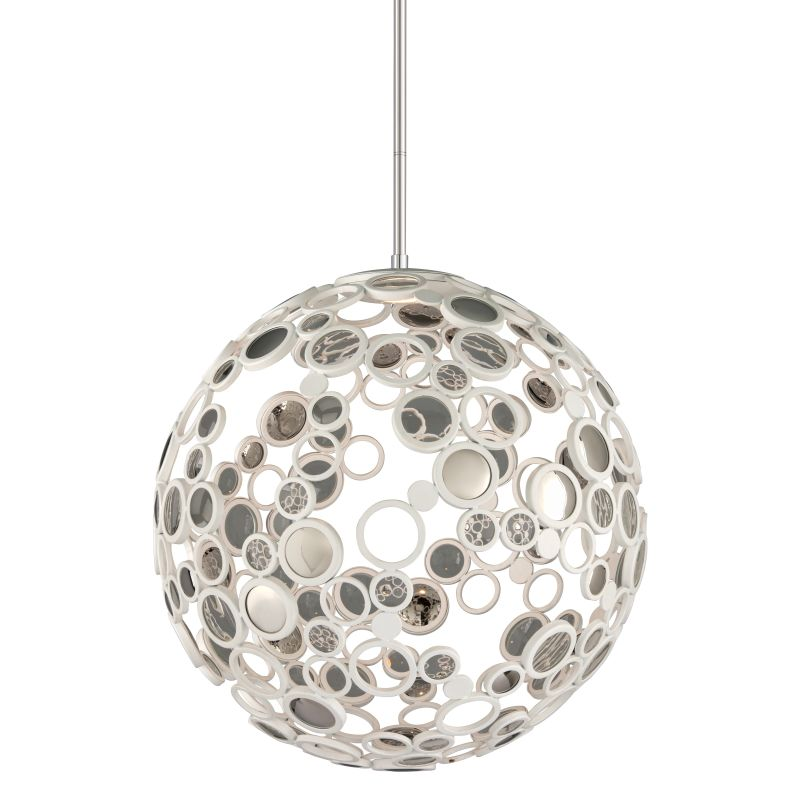 Corbett Lighting 187-43 Fathom 1 Light LED Pendant with Hand-Crafted