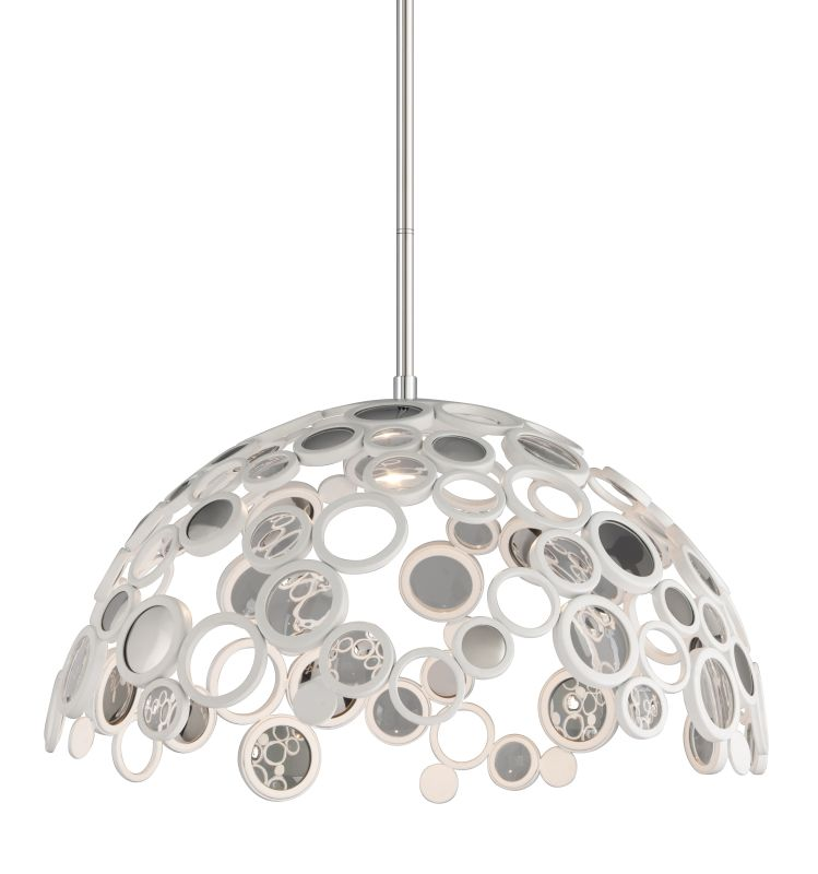 Corbett Lighting 187-45 Fathom 1 Light LED Pendant with Hand-Crafted