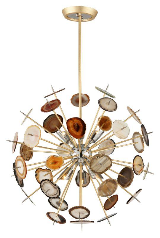 "Corbett Lighting 212-46 Meteor 6 Light 27"" Pendant with Hand-Crafted Sale $4056.00 ITEM#: 2752422 MODEL# :212-46 UPC#: 782042880870 :"