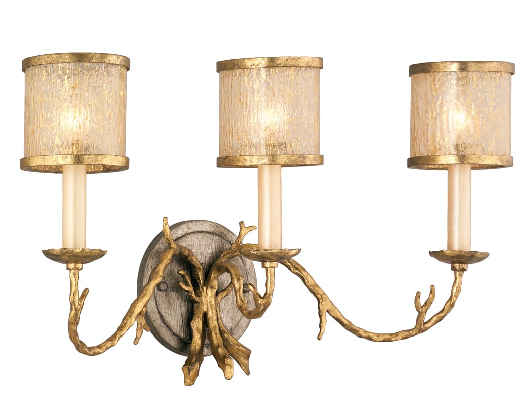 Corbett Lighting 66-63 3 Light Wall Sconce from the Parc Royale