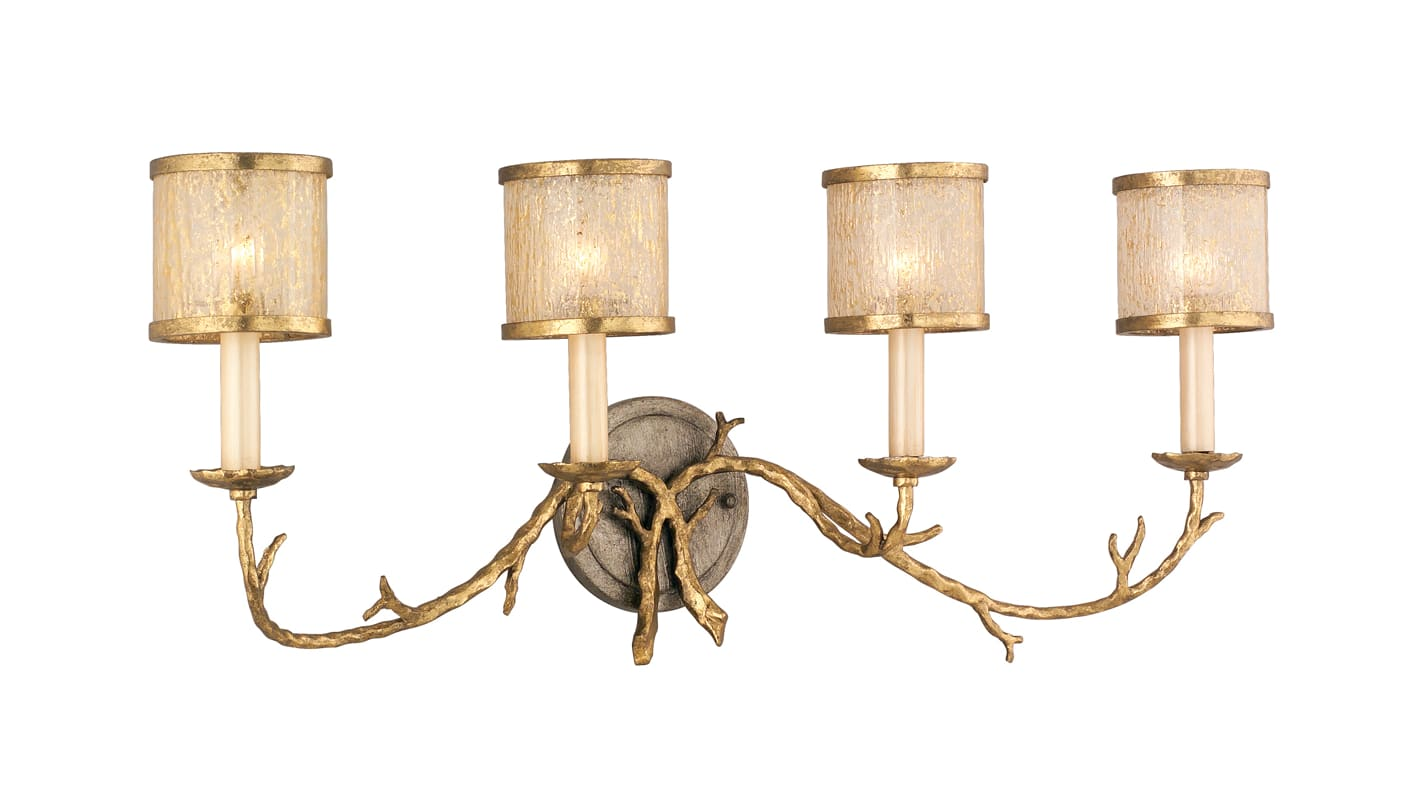 Corbett Lighting 66-64 4 Light Wall Sconce from the Parc Royale