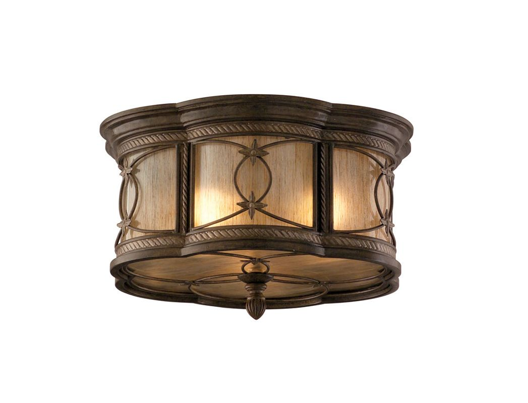 Corbett Lighting 67-33-F St Moritz 1 Light Hand Wrought Iron