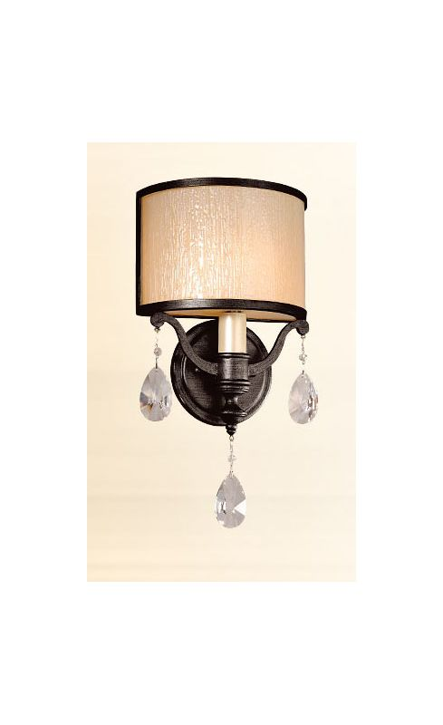 Corbett Lighting 86-11 One Light Wall Sconce From The Roma Collection