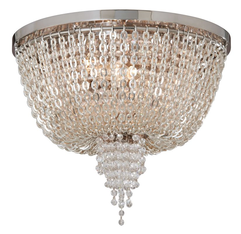 Corbett Lighting 141-32 2 Light Ornate Flush Mount Ceiling Fixture
