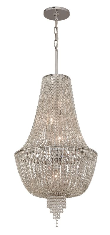 Corbett Lighting 141-45 5 Light Ornate Foyer Pendant with Jewelry