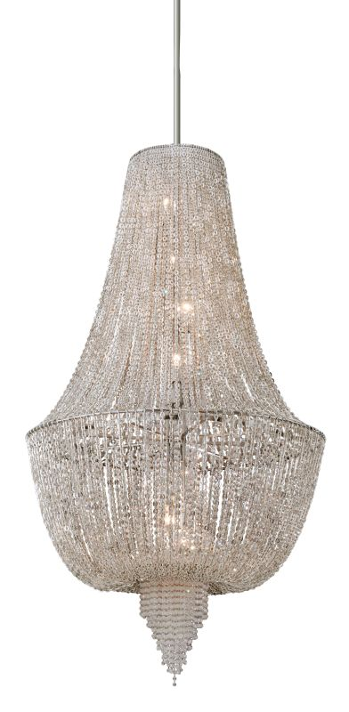Corbett Lighting 141-78 8 Light Ornate Foyer Pendant with Jewelry